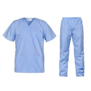 Costum medical bleu Cesare