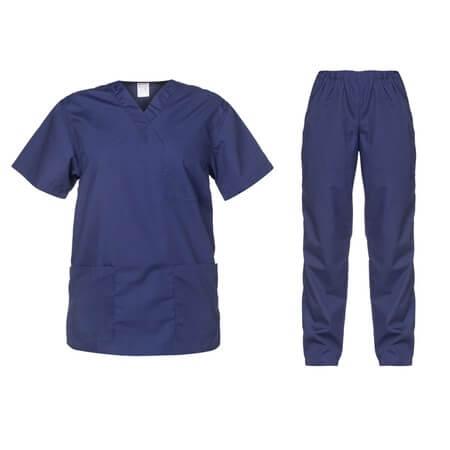Costum medical bleumarin Cesare