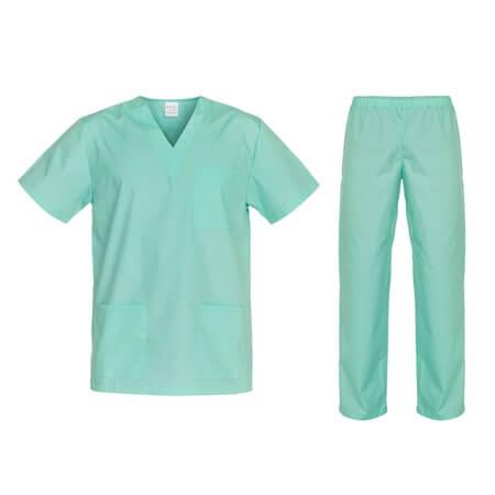 Costum medical verde Cesare