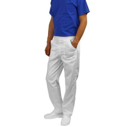 3T032 Pantalon de medic alb