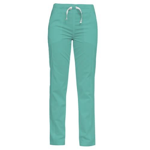 Pantaloni medicali verzi Luca