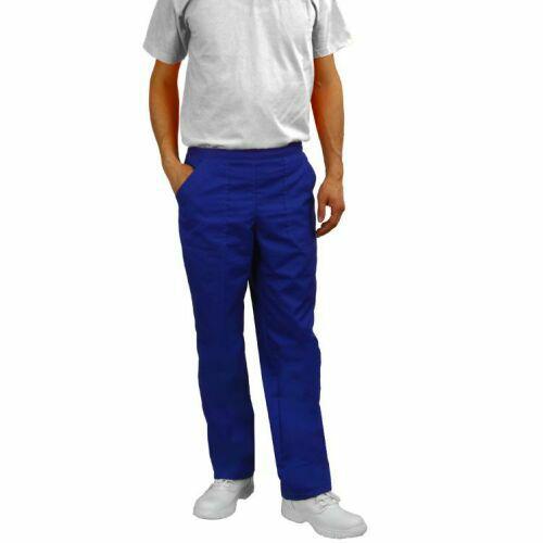 pantaloni medicali albastru