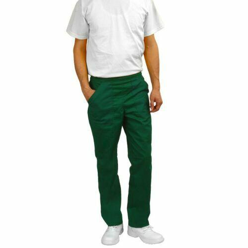 pantaloni medicali verde