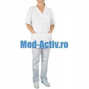 uniforma medicala alba
