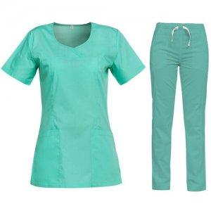 uniforma medicala dama verde