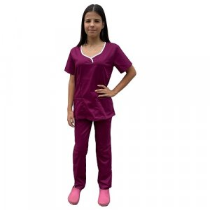 uniforma medicala dama grena
