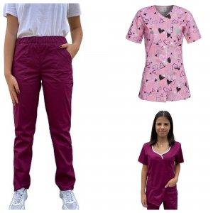 uniforma medicala dama 3 piese